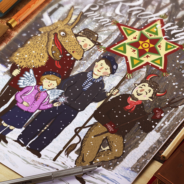 Christmas 2016  – UIGSE postcard