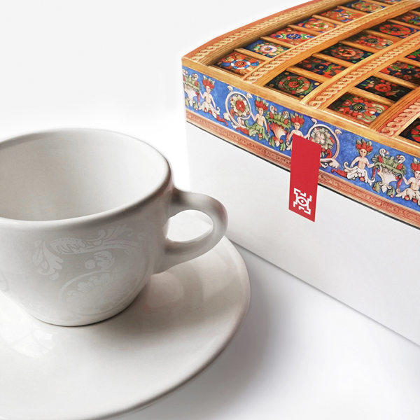 Lublin cup & packaging