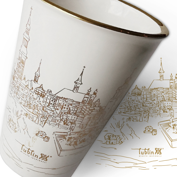 Lublin mug & packaging